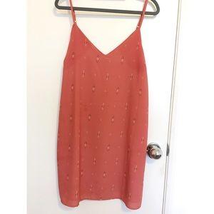 Coral summer dress!
